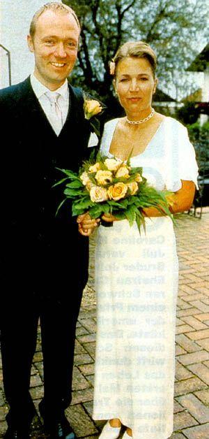 Prince Carl Christian of Hohenzollern-Sigmaringen and Nicole Neschitsch, 1999.