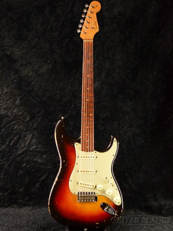 【楽天市場】【中古】Fender Early 1962 Stratocaster -Sunburst/Slab Fingerboard- 1962年製[フェンダー][Vintage,ヴィンテージ][スラブボード][サンバースト][ストラトキャスター][Electric Guitar,エレキギター]【used_エレキギター】_vtg:ギタープラネット