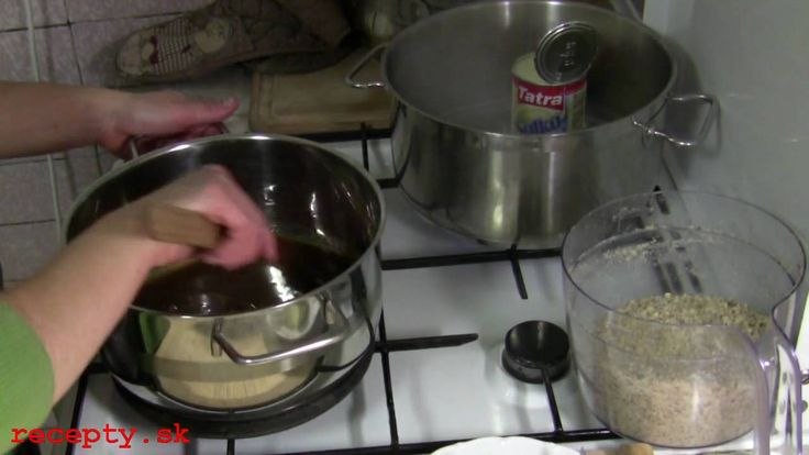 Recepty sk: Oriešková griláž