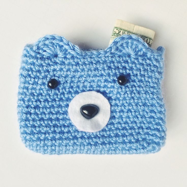 Free Pattern Crochet Coin Purse : 17 Best images about coin purses on Pinterest Purse ...