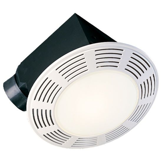 The Deluxe Bathroom Exhaust Fans With Light And Nightlight