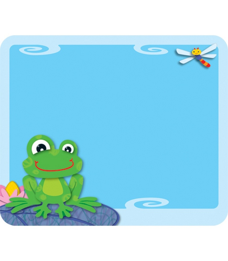 FUNky Frogs Name Tags | Classroom décor from Carson-Dellosa