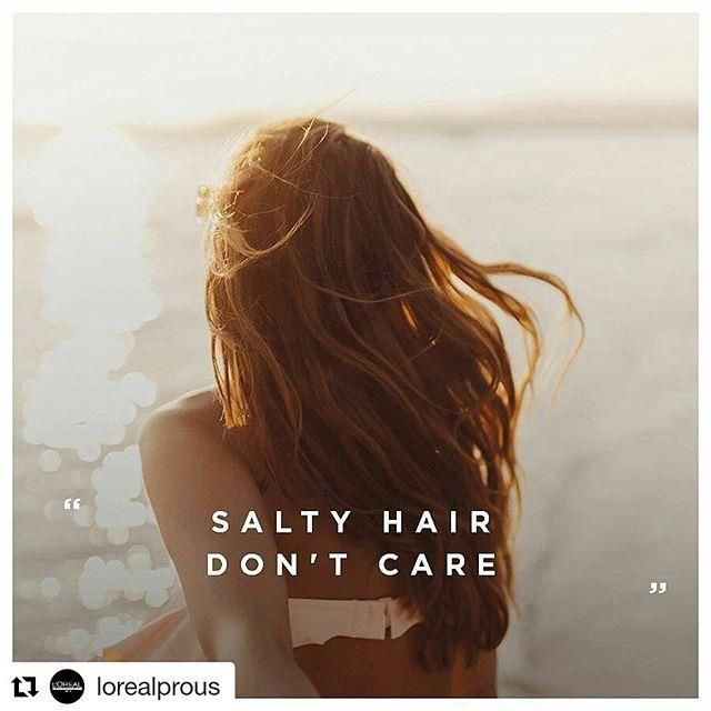 Just remember to protect your hair with your favorite L'Oreal Professionnel product. #summerhair ...