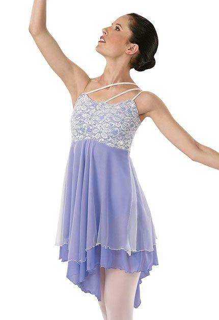 Lace Overlay Ballet Dress; Weissman Costumes