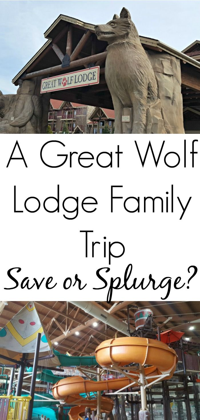 A Great Wolf Lodge Family Getaway- see how to save or splurge on a weekend away at the fun Great Wolf Lodge! AD