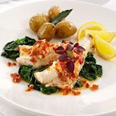 /gurnard-fillets-with-a-potato-garlic-and-saffron-broth-