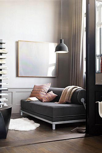 Softline Twilight Sleeper Sofa, $1,900, available at Design Within Reach.  5 Small-Space Woes, 15 Clever Makeovers #refinery29