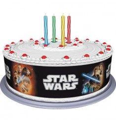 Ruban en sucre Star Wars pour gâteau