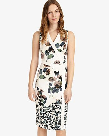 Phase Eight Elisha Floral Dress Multi