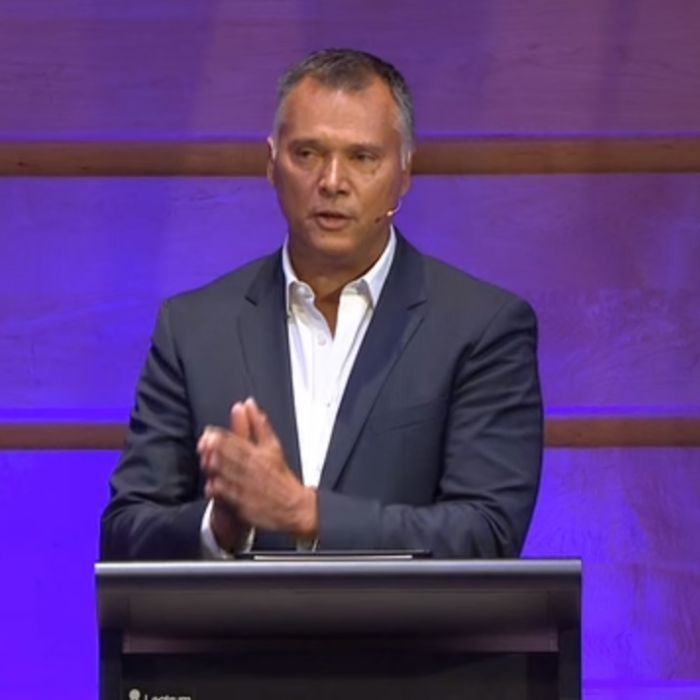 Stan Grant's amazing 'Australian dream' speech.