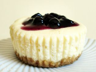 New York Cheesecake ~ Tarta de Queso {versión mini} | DeNIKAtessen - Recetas de Cocina