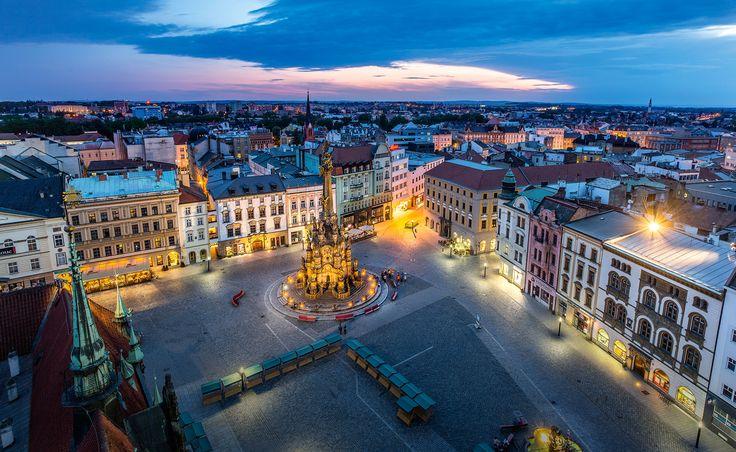 My beautiful hometown!!  Olomouc, in the Czech Republic