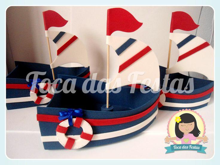 barcos de eva para festa de marinheiro - Pesquisa Google