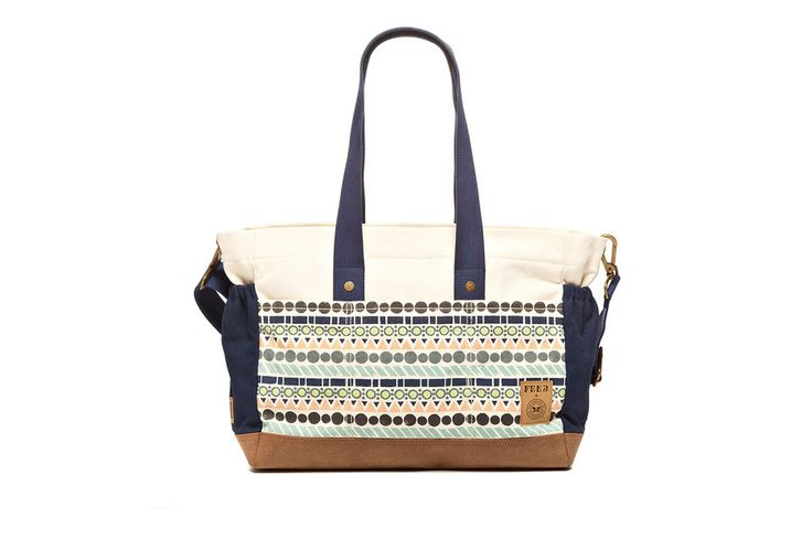 A great bag for a great cause! This FEED Projects + Honest Canvas Tote Diaper Bag is a stylish must-have.