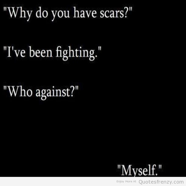 fighting depression life Quotes