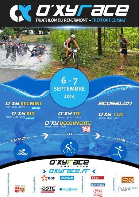 Course Oxyrace Challenge. Du 6 au 7 septembre 2014 à Treffort-Cuisiat.