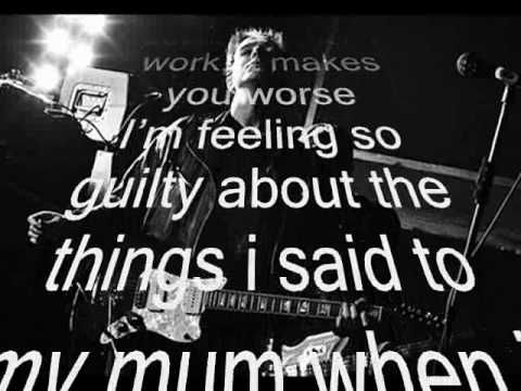 It's my own cheating heart that makes me cry - GLASVEGAS