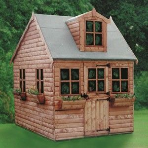 28 best images about wendy house ideas on pinterest for Wooden wendy house ideas