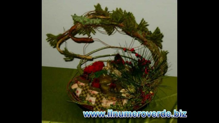 Composizioni floreali Natalizie,centrotavola di Natale