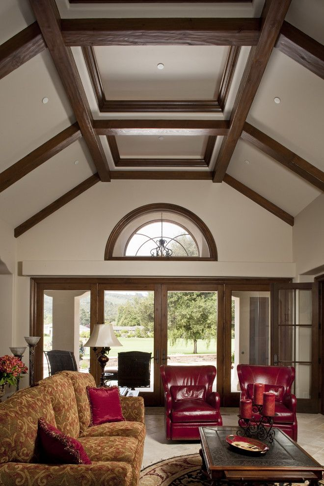 Best 10 cathedral ceiling bedroom ideas on pinterest for Coffered cathedral ceiling