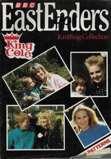 BBC EastEnders Vintage Knitting Book 1986 | knitting ...