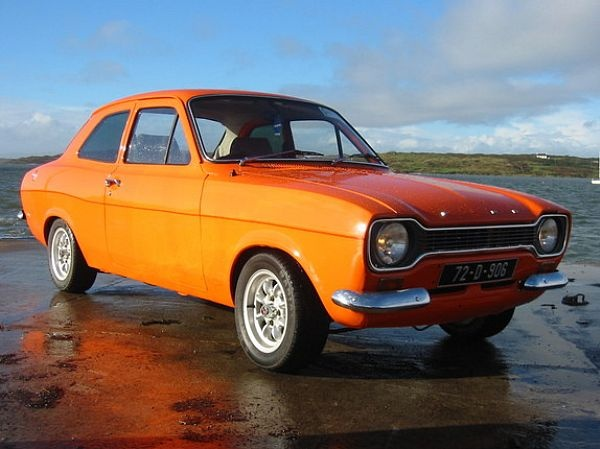 1972 Ford Escort. My first car.