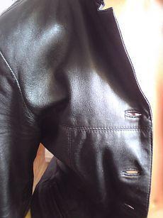 Реставрация кожаной куртки(мастер-класс)