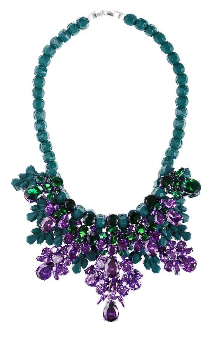 Ek Thongprasert_Huntercombe Purple statement necklace