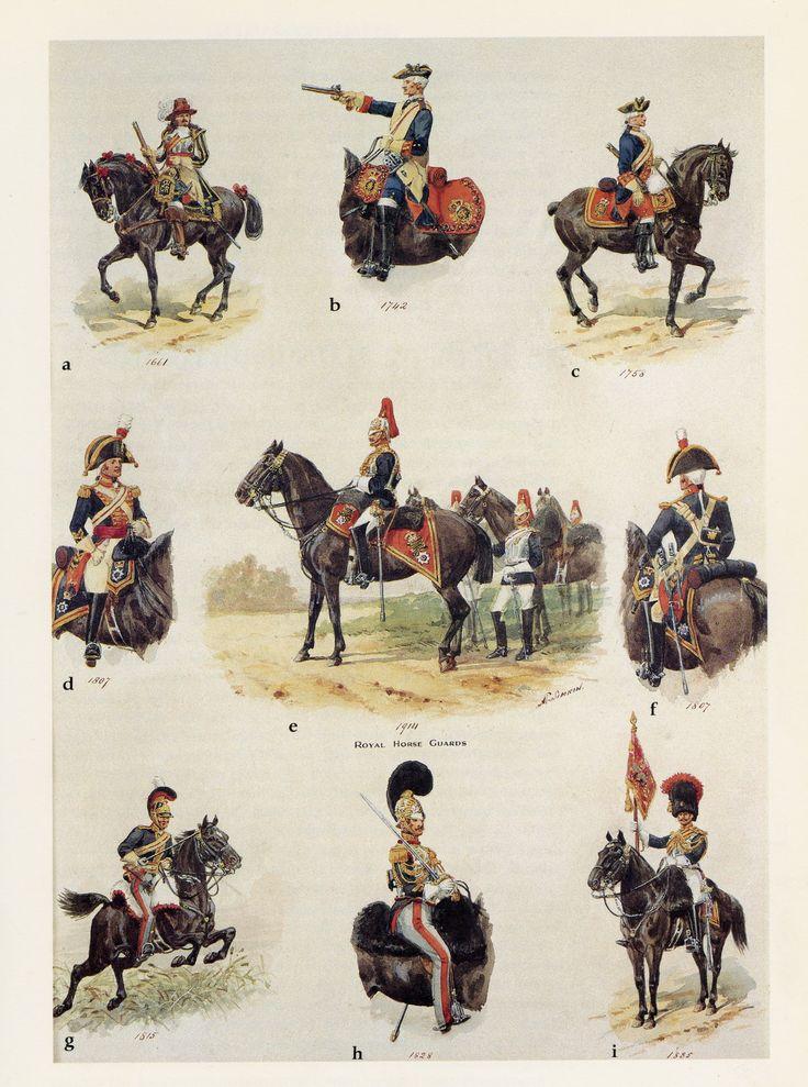 British; Royal Horse Guards by R.Simkin