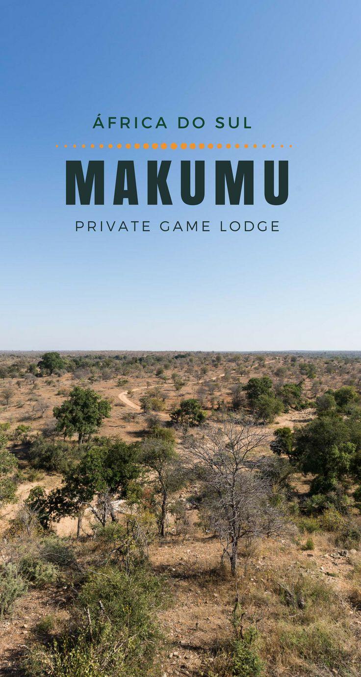 Bem-vind@ ao Makumu Private Game Lodge, no Greater Kruger Park, reserva Klaserie, em Hoedspruit, África do Sul.  O Makumu é um luxuoso e exclusivo lodge sem cercas, com uma vista espetacular, no coração do lowveld sul-africano.