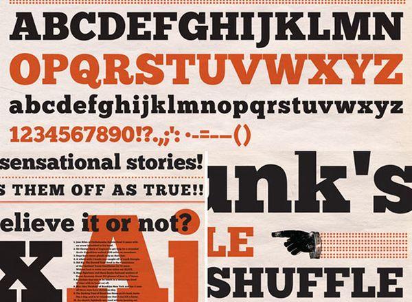 Slab serif, my love