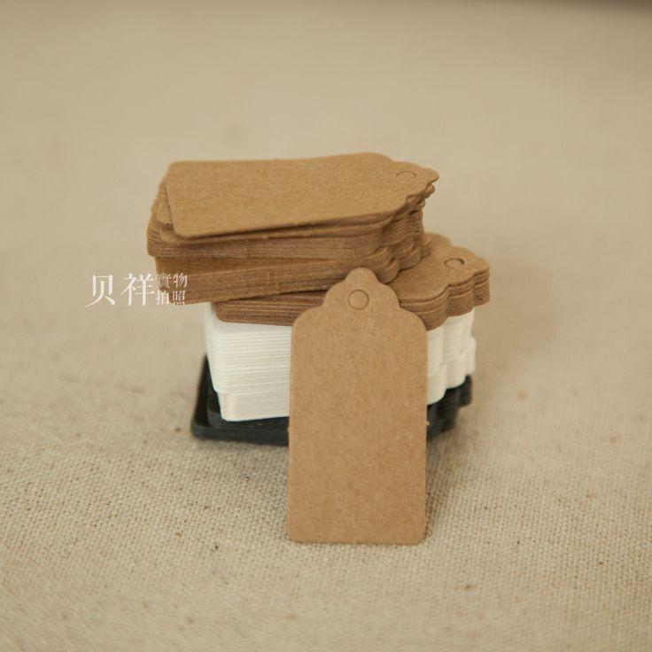 50 stks/partij 4*2 cm Vintage Rechthoek Papier Tag Geschenkdoos Tags Gunst Box Hang Tags Gunst Labels Ambachten Cadeaupapier in Materiaal: 350 grams kraftpapierPapier,350 grams wit papier, 300 gsm zwart papierGrootte van de tag: 4cm x 2 van Event& party benodigdheden op AliExpress.com   Alibaba Groep