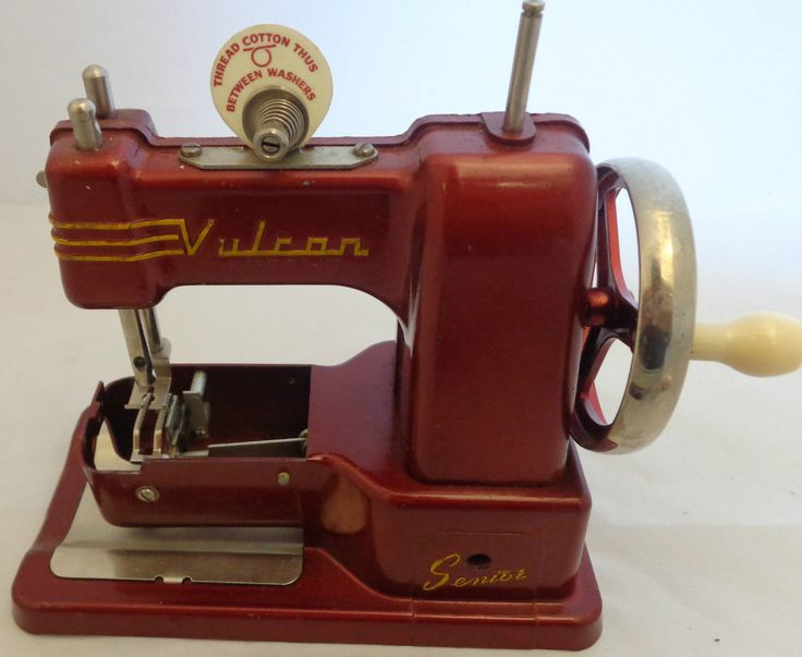 Vintage Vulcan Senior Child's Sewing Machine (314) | eBay ...