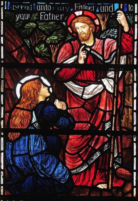 East window of St Michael's Church Minehead