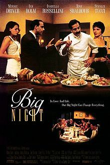 Big Night, Stanley Tucci 1996
