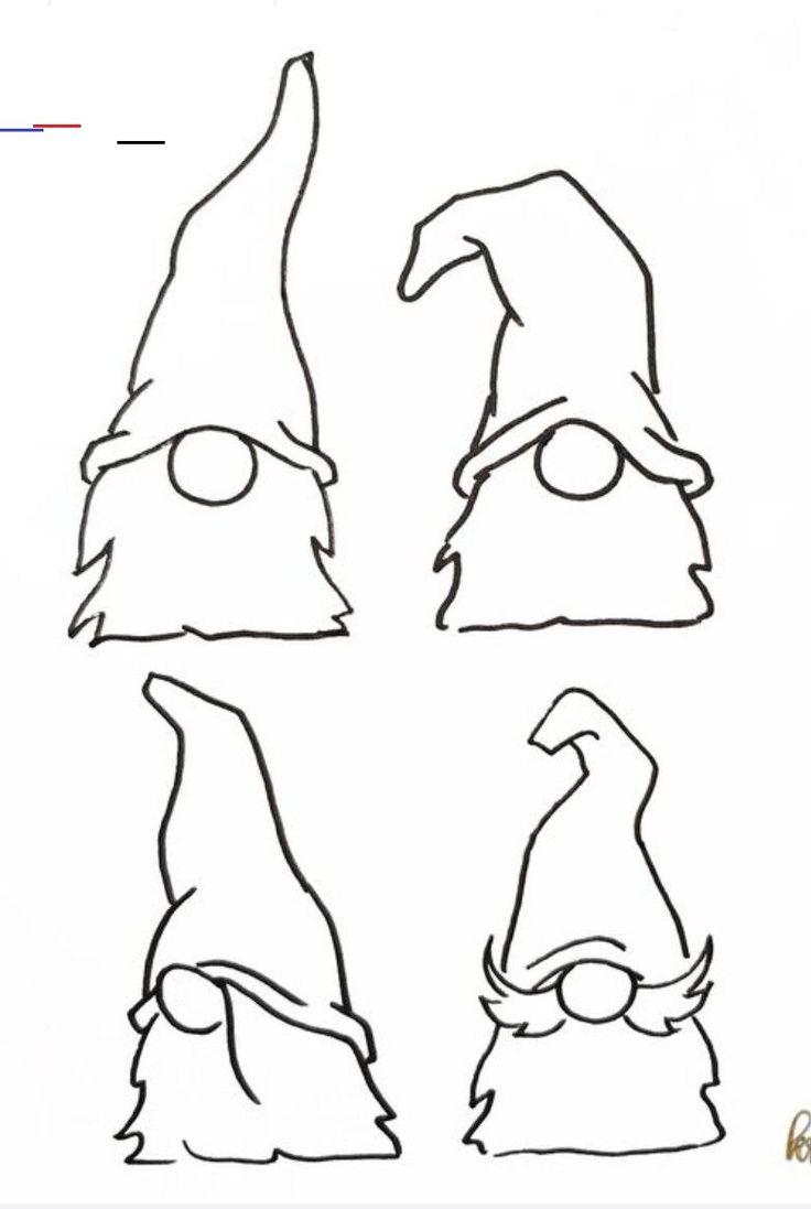 Outline Gnome Svg Free   Novocom.top