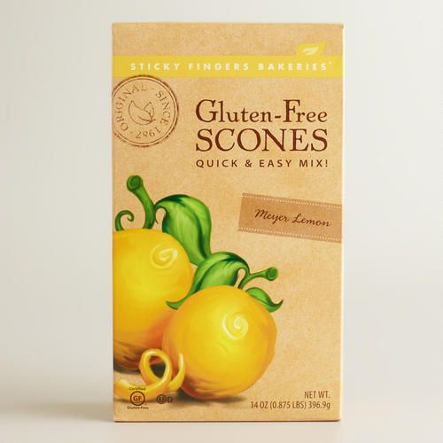 One of my favorite discoveries at WorldMarket.com: Sticky Fingers Meyer Lemon Scone Mix