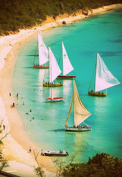 Sail boats & blue green water.: Buckets Lists, Sailboats, Fiji Islands, Blue Green, Wonder Places, Places I D, Travel, Sailing Away, Sailing Boats