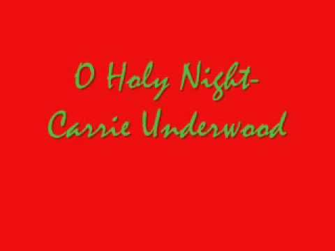 Carrie Underwood - O Holy Night (Full Song)