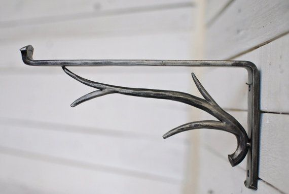 Hey, I found this really awesome Etsy listing at https://www.etsy.com/listing/179421917/forged-iron-shelf-bracket-forest-decor