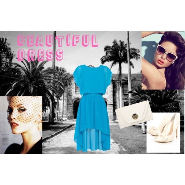 Turquoise Dress, created by bootsmannundtornado on Polyvore