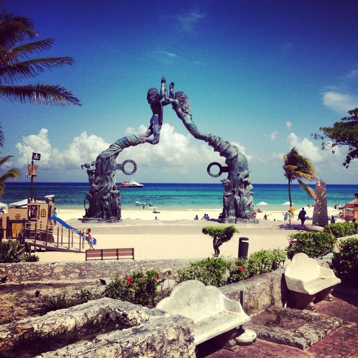 Playa del Carmen, Mexico - Public beach