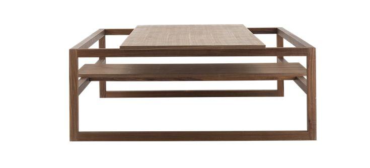 Main Square sofabord - Valnøtt fra Bolia. Om denne nettbutikken: http://nettbutikknytt.no/bolia-com/
