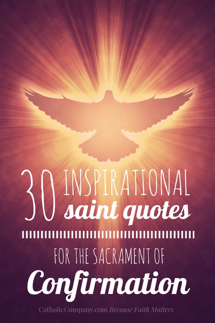 Inspirational Quotes On Pinterest: 30 Inspirational Saint Quotes For Confirmation