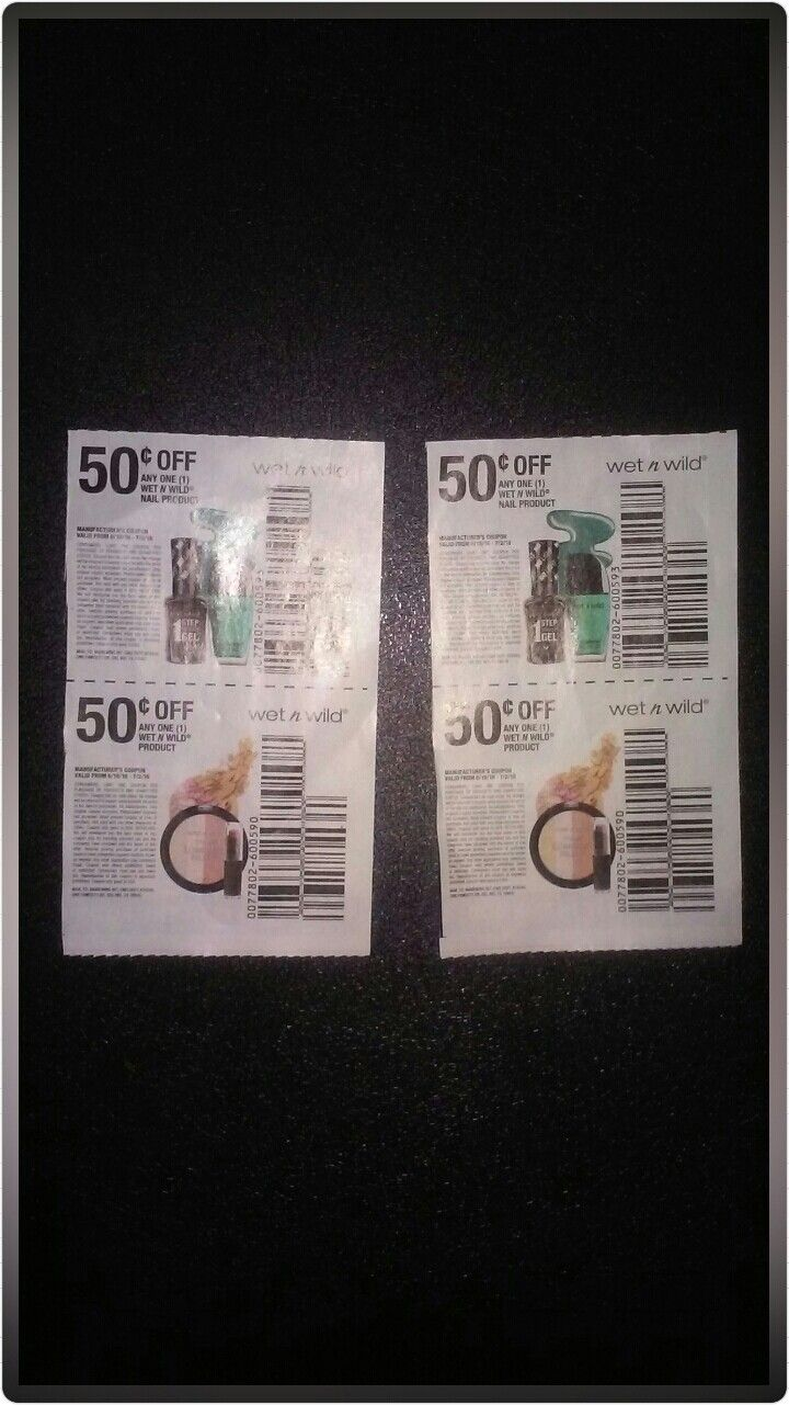Wet n Wild coupons