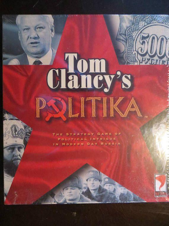 Tom Clancy's Politika Political Military Board Game  FREE