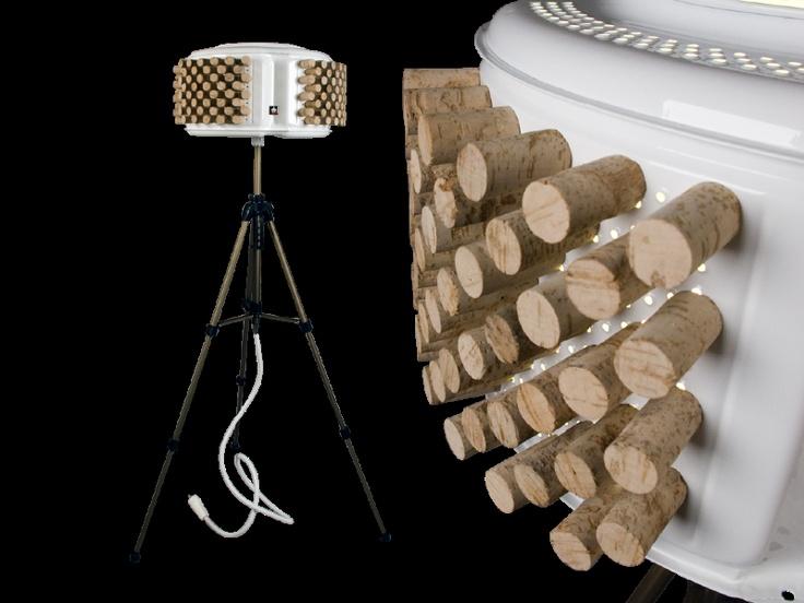 Rewashlamp, una collezione di lampade create con materiali di riciclo: la str...