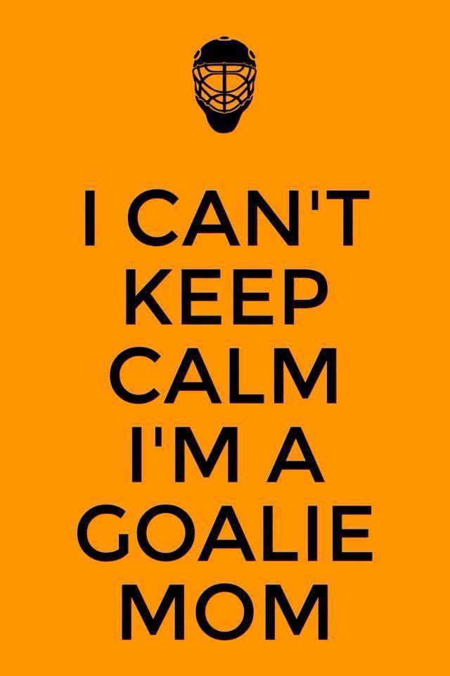 Goalie Mom - - LOVE IT!!!                                                                                                                                                                                 More