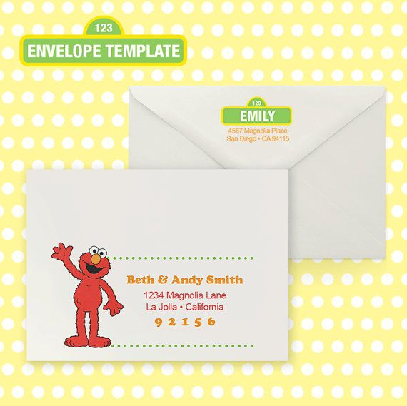 29 best Jamesonu0027s 2nd Birthday images on Pinterest Birthdays - sample a7 envelope template