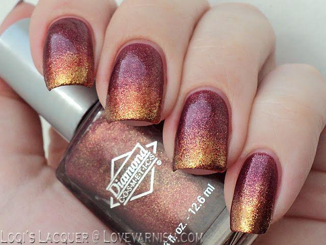 20 Gorgeous Fall Nail Ideas – Fall nail art designs